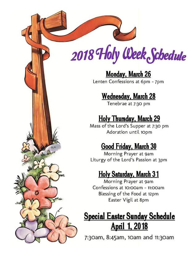 2018 holy week schedule corporal works of mercy discussion guide rediscover catholicism rediscover catholicism book study